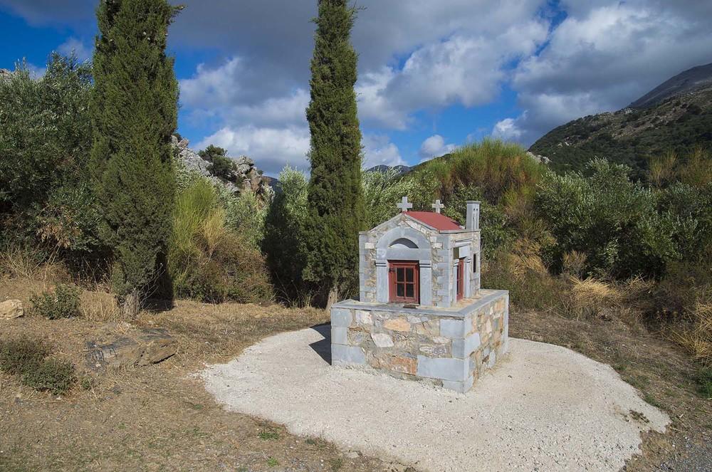 Roadside Altar, Lasithi Plateau, Crete