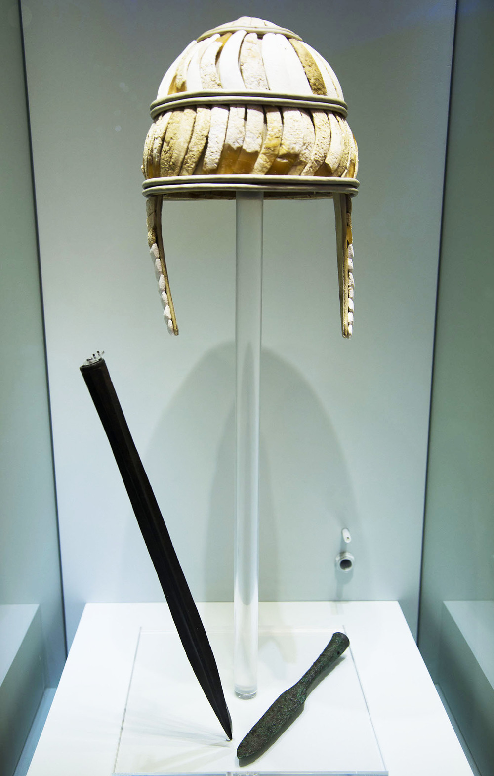 MinoanBoar's Tusk Helmet, 16th - 15th CenturiesBC, Heraklion, Crete