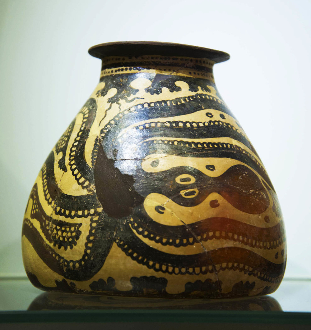 Minoan Octopus Jug, 17th - 15th Centuries BC, Heraklion, Crete