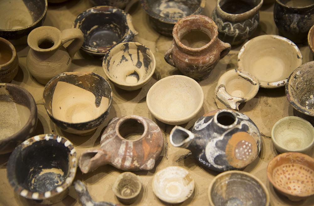 Pottery, 3rd Millenium BC, Heraklion, Crete