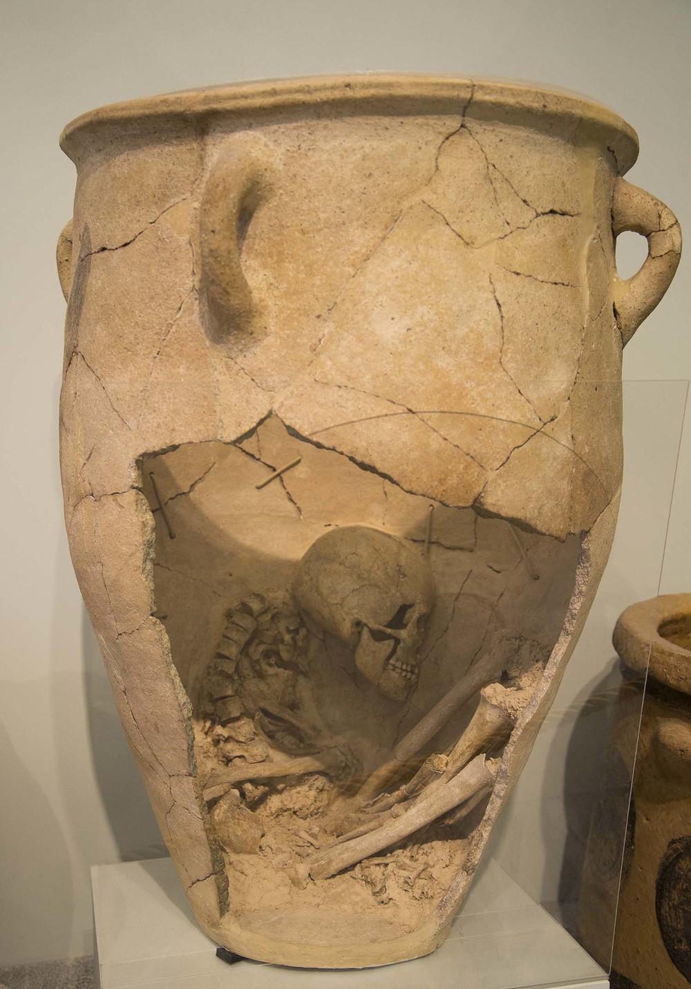 Minoan Burial Jar, 2nd Millenium BC, Heraklion, Crete