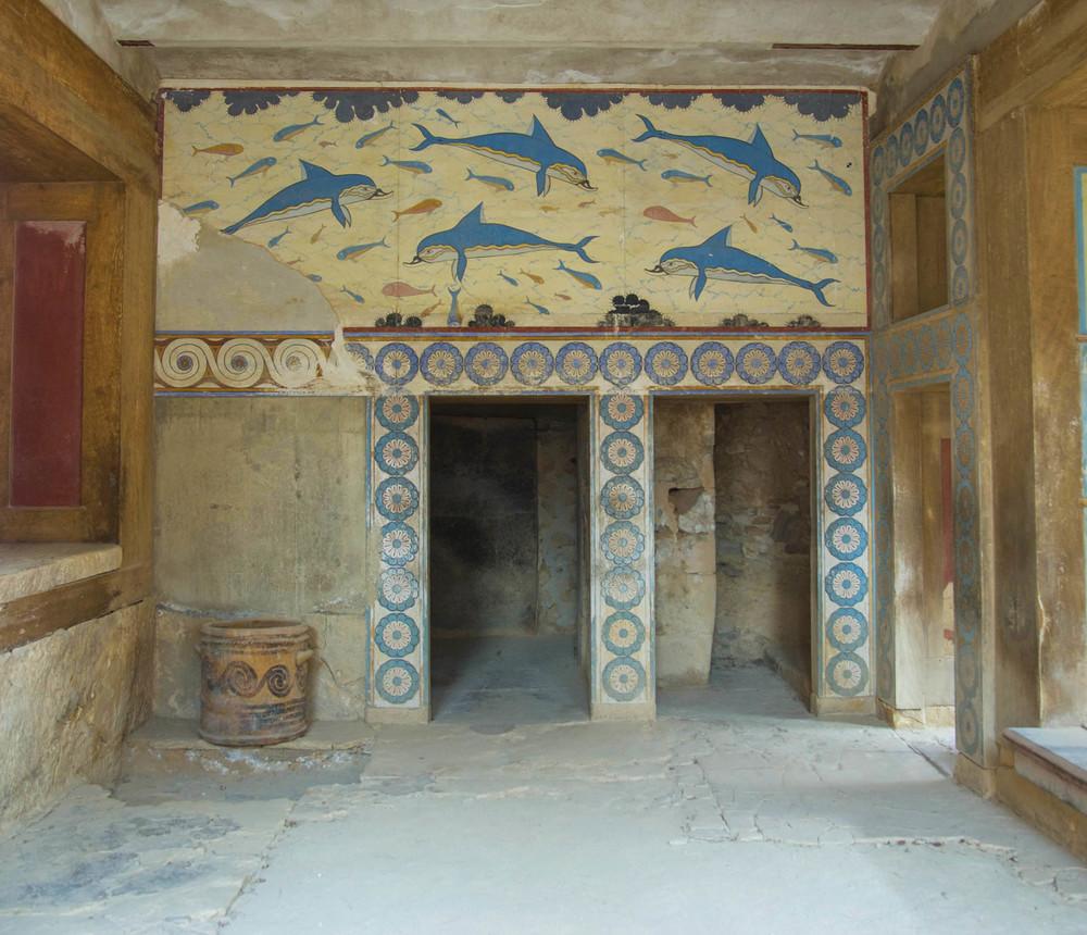 Queen's Megaron, 15th Century BC, Knossos, Crete