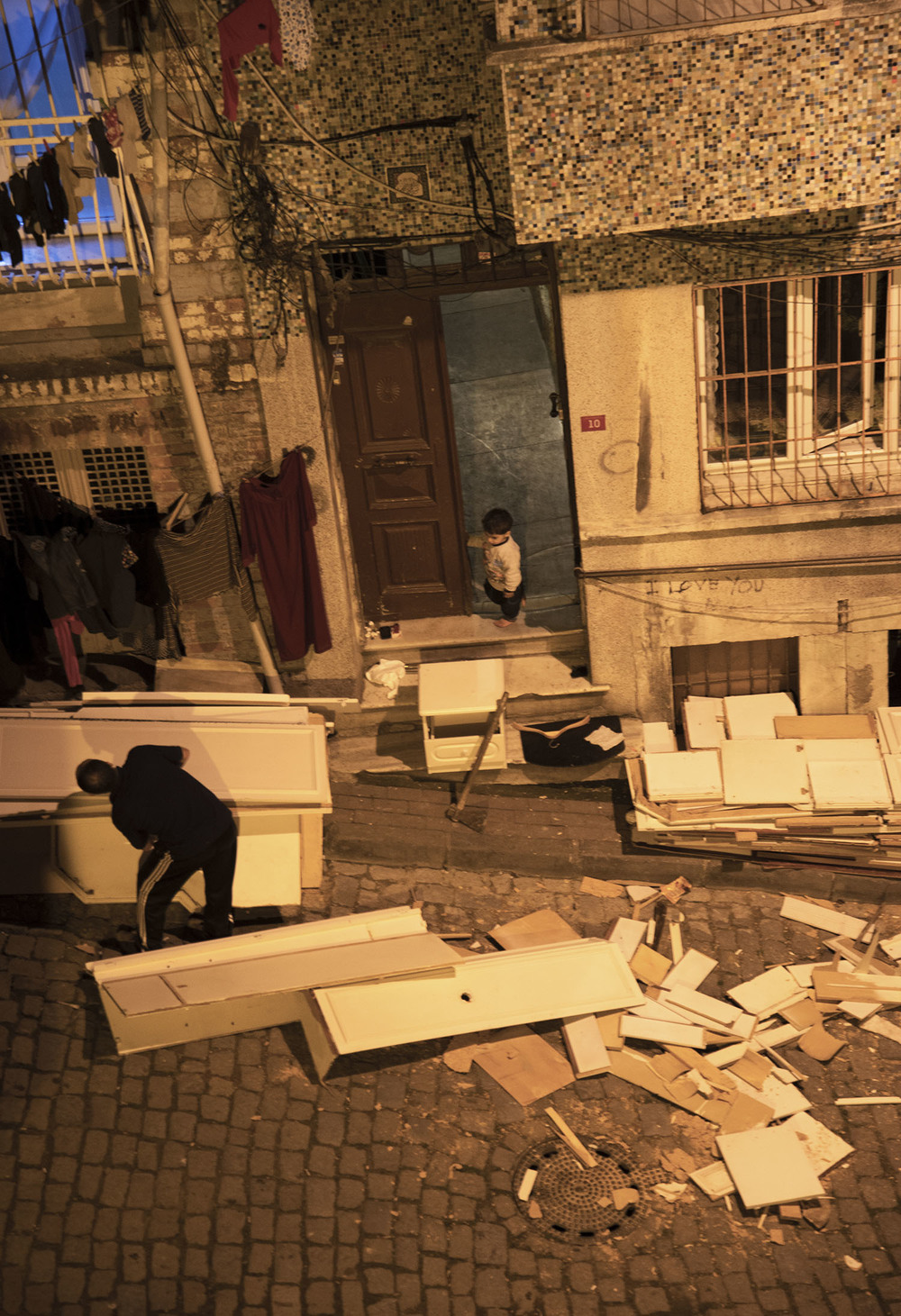 Furniture as Firewood, Balat, Istanbul