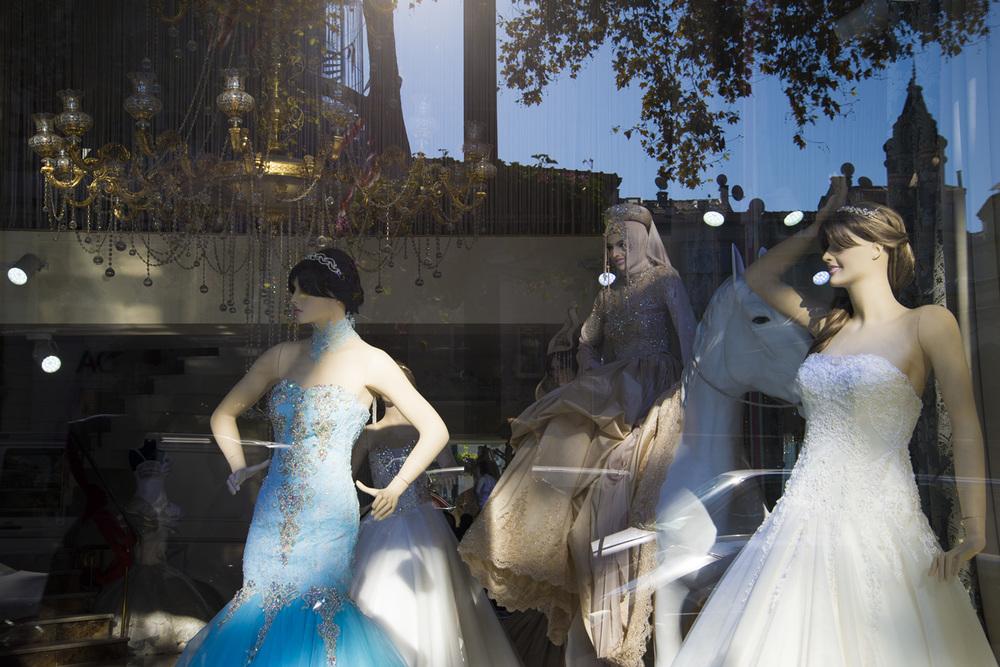 Dress shop, Istanbul