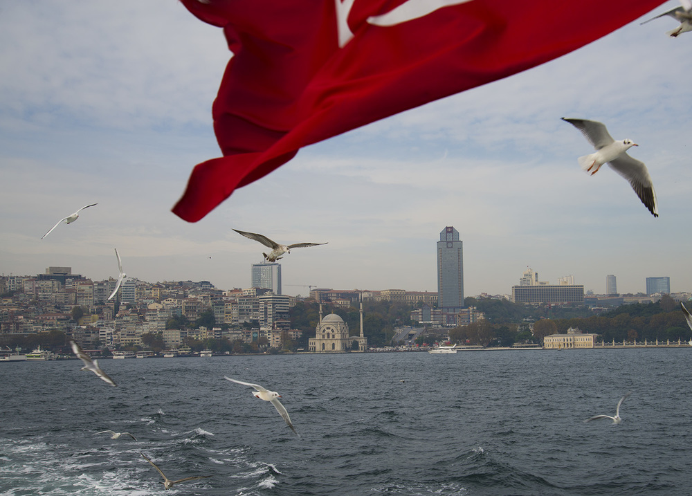 Ferry to Kadıköy, Istanbul