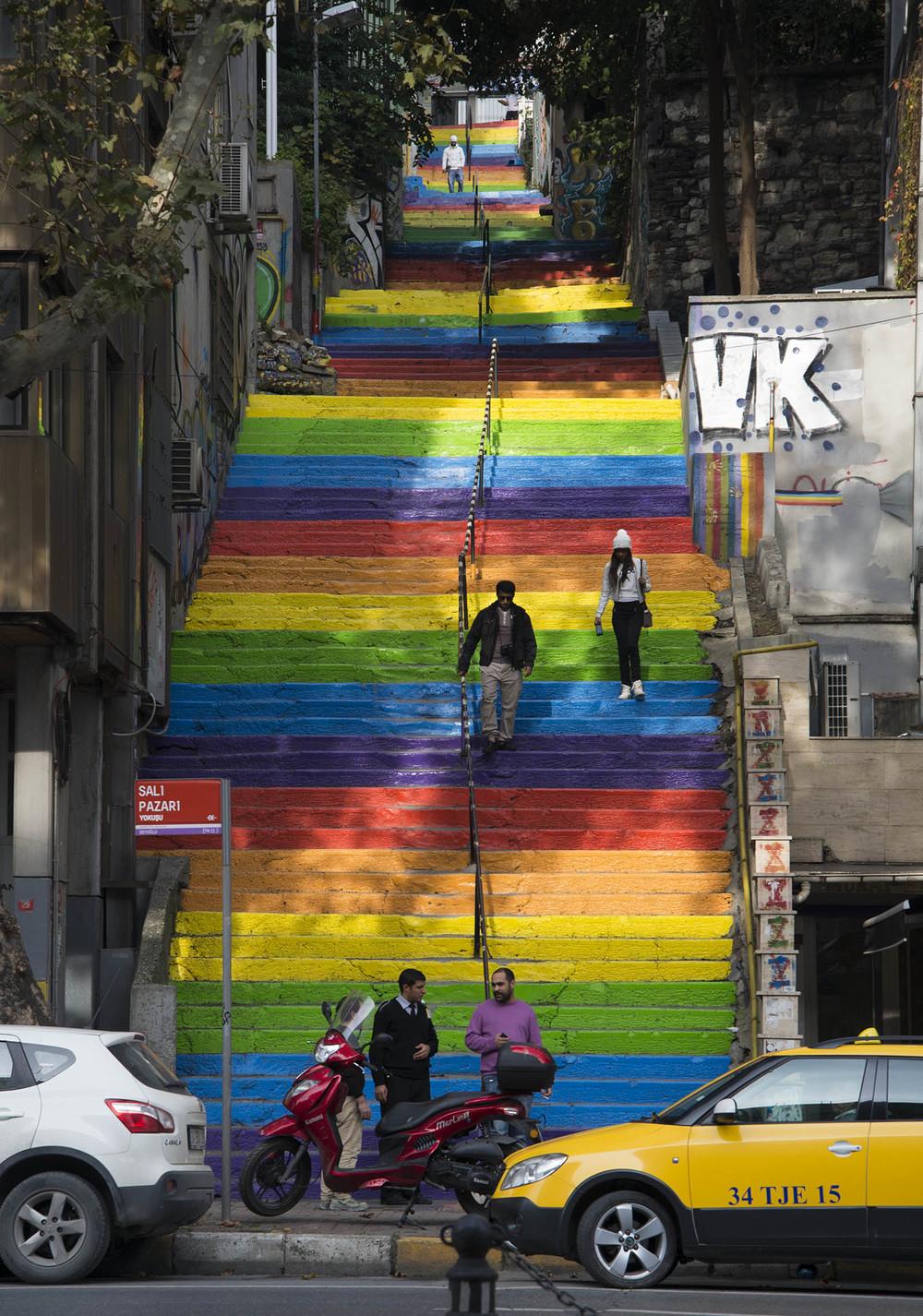 Fındıklı- Cihangir stairs, Istanbul