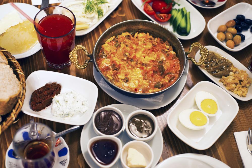 Breakfast, Van Kahvalti Evi, Istanbul