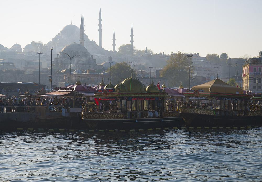 Eminonubalık-ekmek vendors, Istanbul