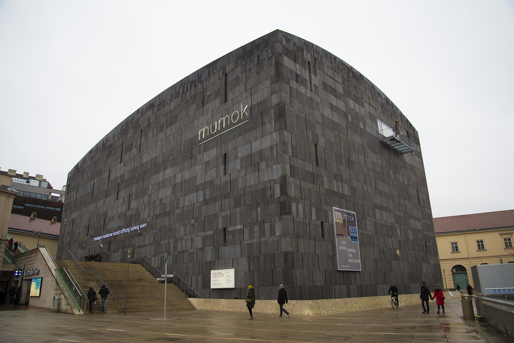 Museum of Modern Art, Michael Wallraff, 1979, Vienna