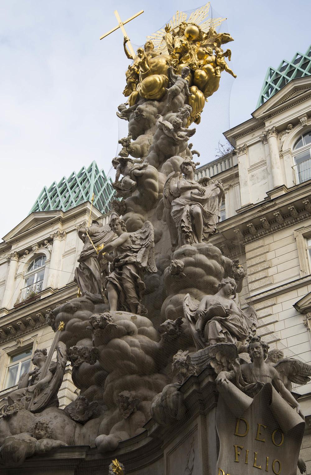 Pestsäule, Ludovico Bernacini & others, 1679 - 1693, Vienna
