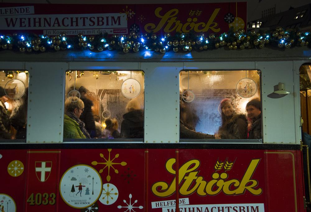 Christmas trolley, Vienna