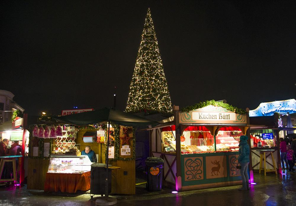 Food vendors, Prater Park,Vienna