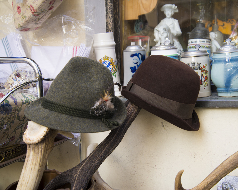 Bavarian alpine hats, Passau