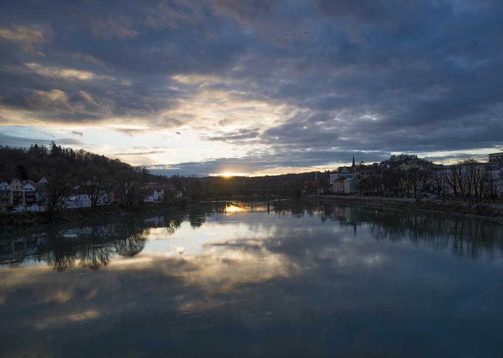 Inn river, Passau