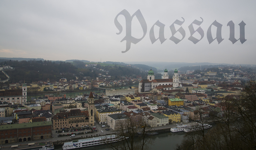 View from Paulinerkloster, Passau