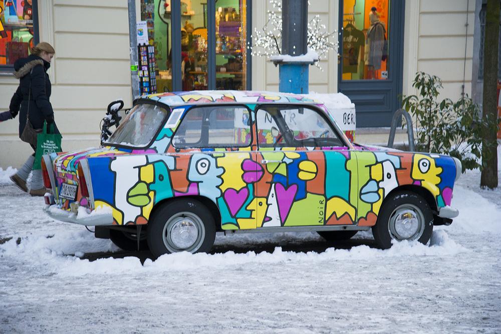 GDR-era Trabant, Berlin