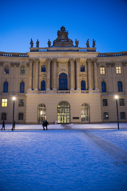Alte Bibliothek der Humboldt-Universität, Georg Christian Unger & Joseph Emanuel Fischer von Erlach, 1775 - 1785, Berlin