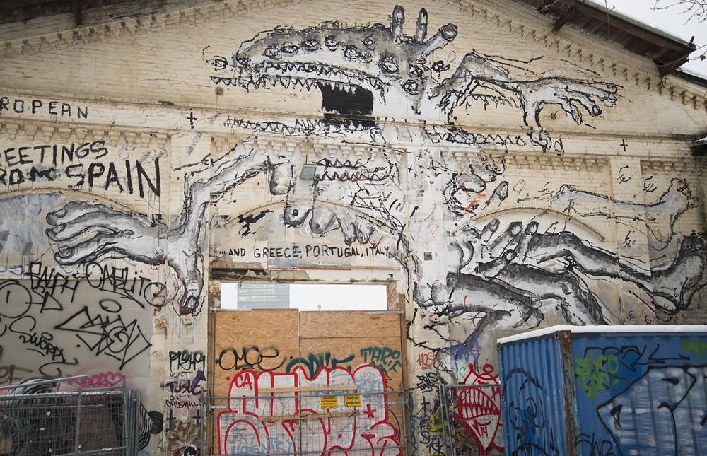 RAW Gelände Graffiti, Berlin