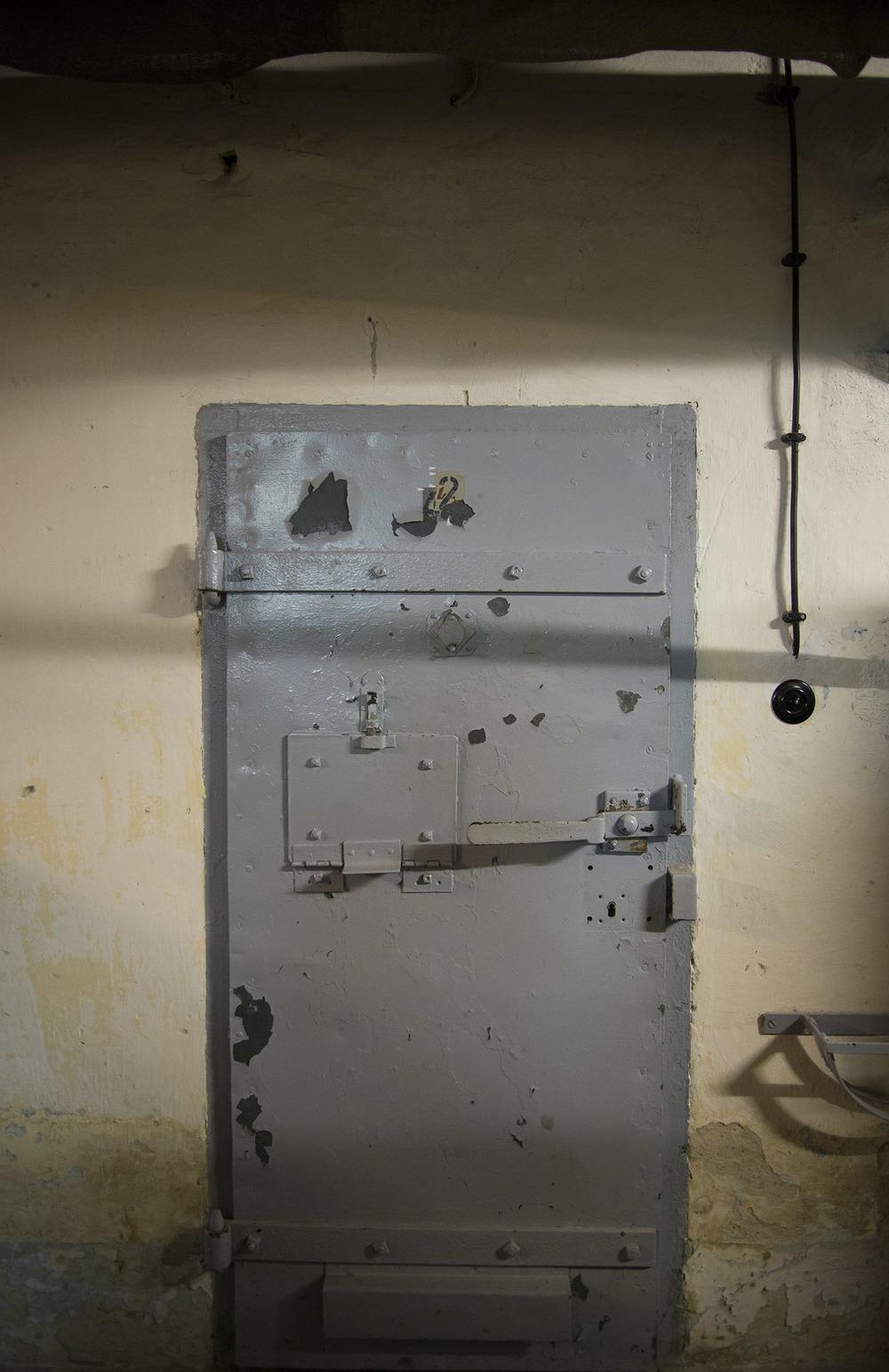 Cell Door, Berlin-Hohenschönhausen Memorial, 1951 - 1990,Berlin