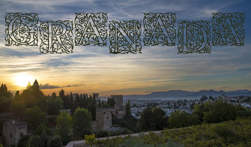 Sunset from the Generalife, Granada