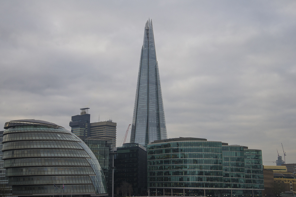 The London Bridge Quarter and The Shard, Renzo Piano, 2009, London, England