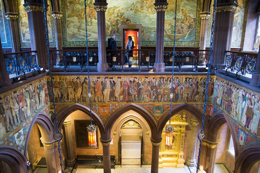 Scottish National Portrait Gallery, Robert Rowand Anderson, 1890, Edinburgh, Scotland