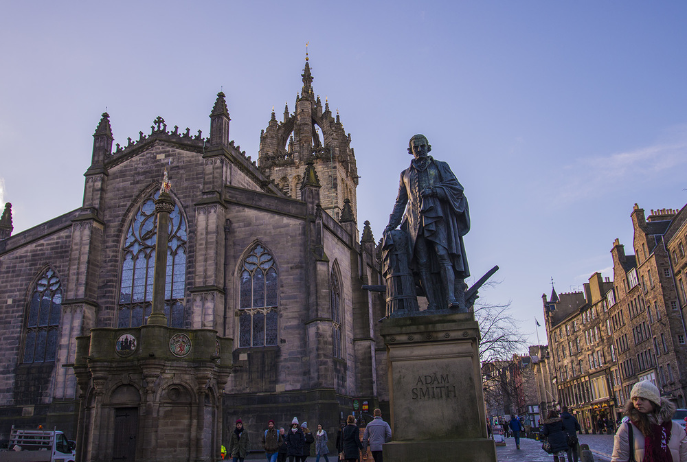 St. Giles Cathedral, 14th Century, Edinburgh, Scotland
