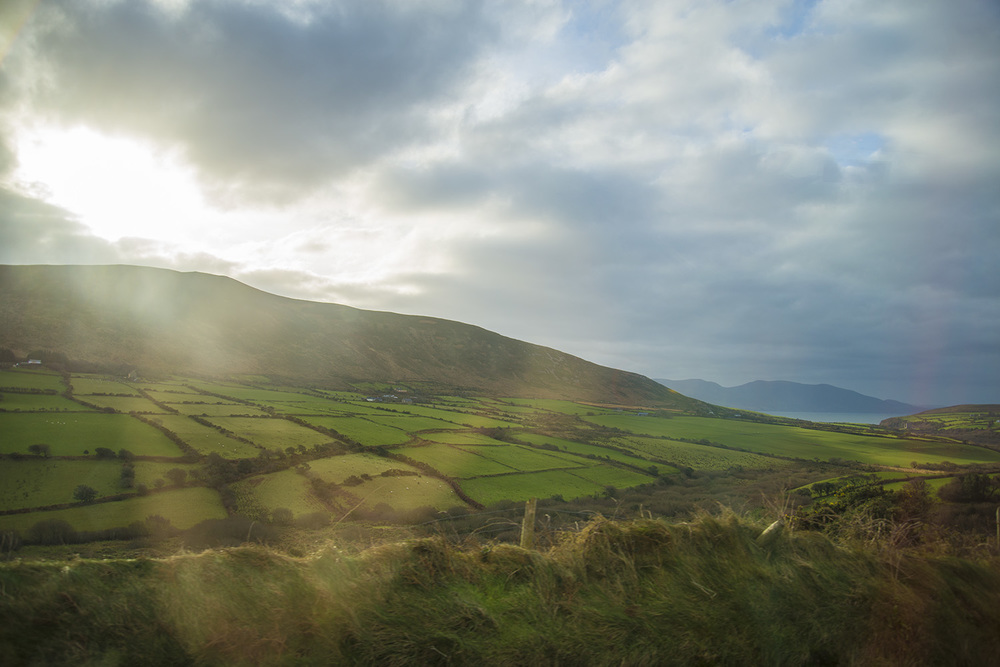 Countryside of County Kerry, Ireland