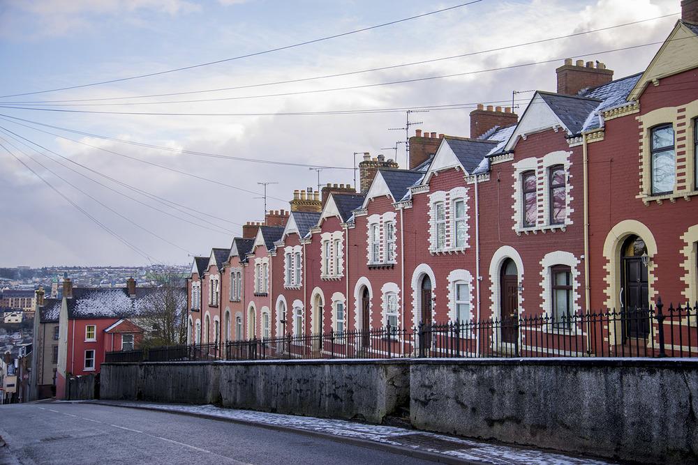 Row homes, Derry, Northern Ireland