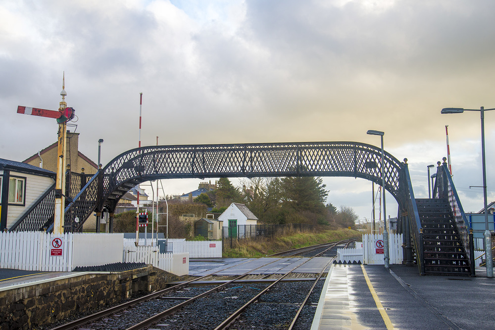 Castlerock railway station, Northern Ireland