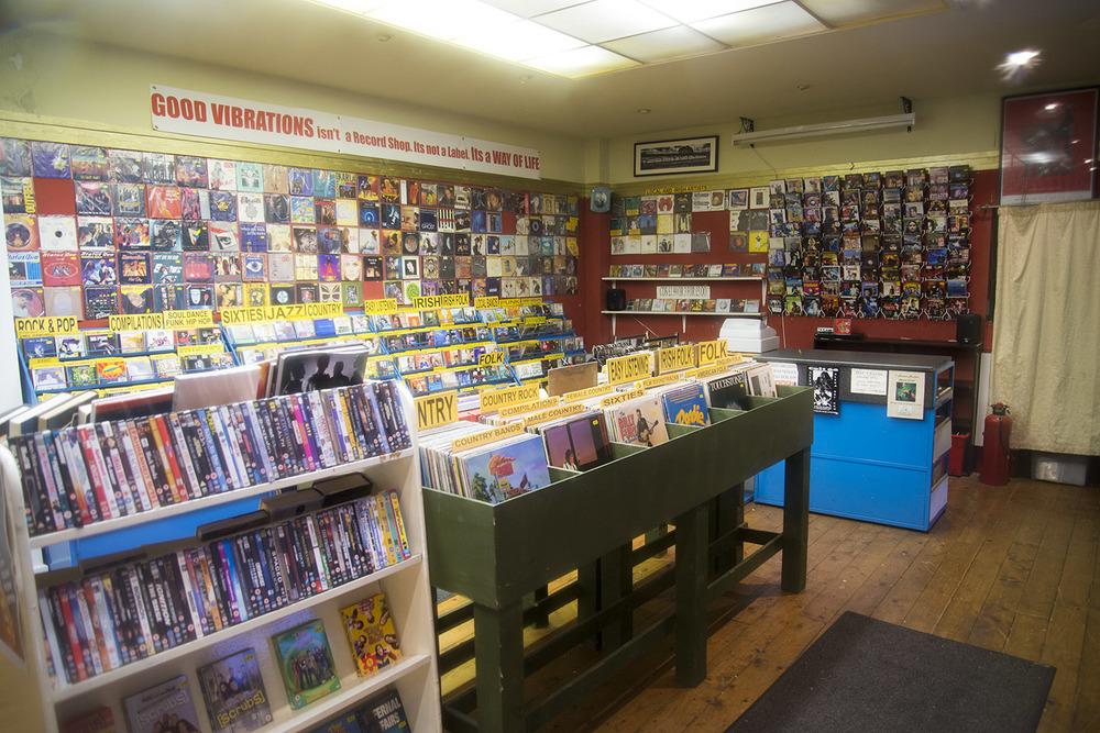 Good Vibrations Record Store, Belfast, Northern Ireland