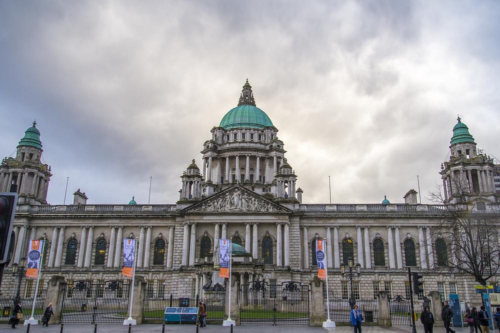 Belfast City Hall, 1906, Belfast, Northern Ireland