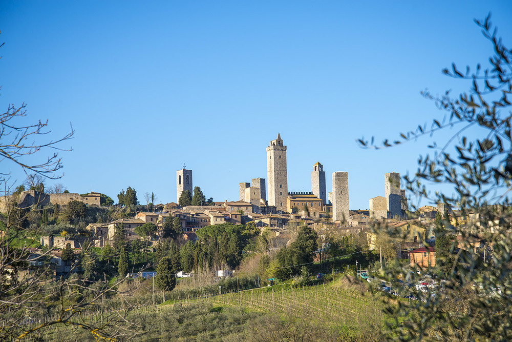 Towers of San Gimignano, Tuscany