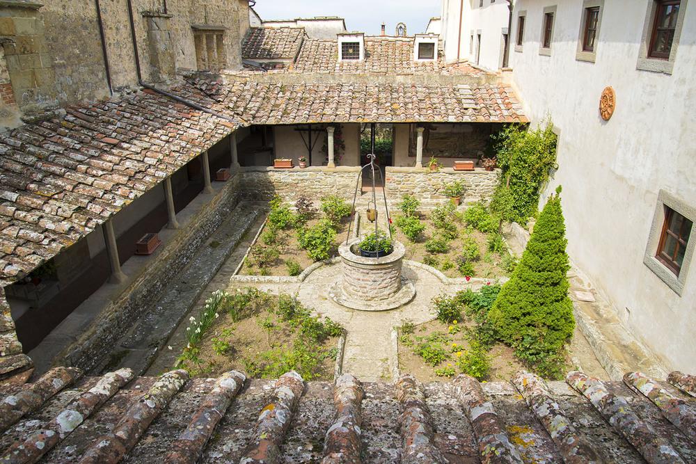 San Francesco Monastery, 14th Century, Fiesole, Tuscany