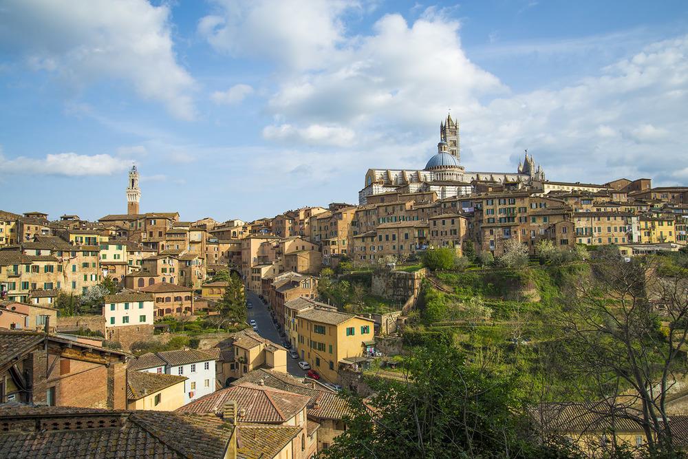 View of Siena, Tuscany