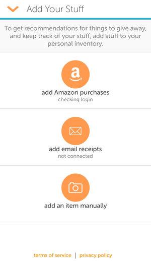 auto import Amazon — Stuffstr