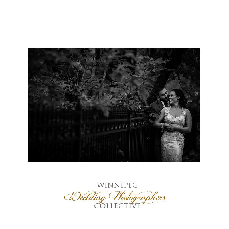 18 Bride and Groom Outdoor Wedding Portrait Trees Fence.jpg