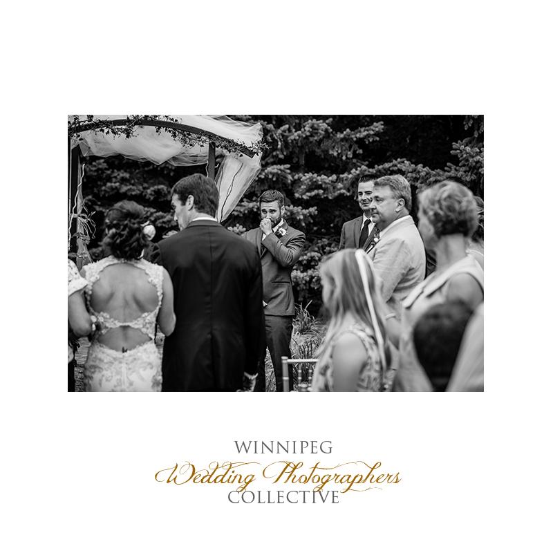 20 Groom reaction bride outdoor wedding.jpg