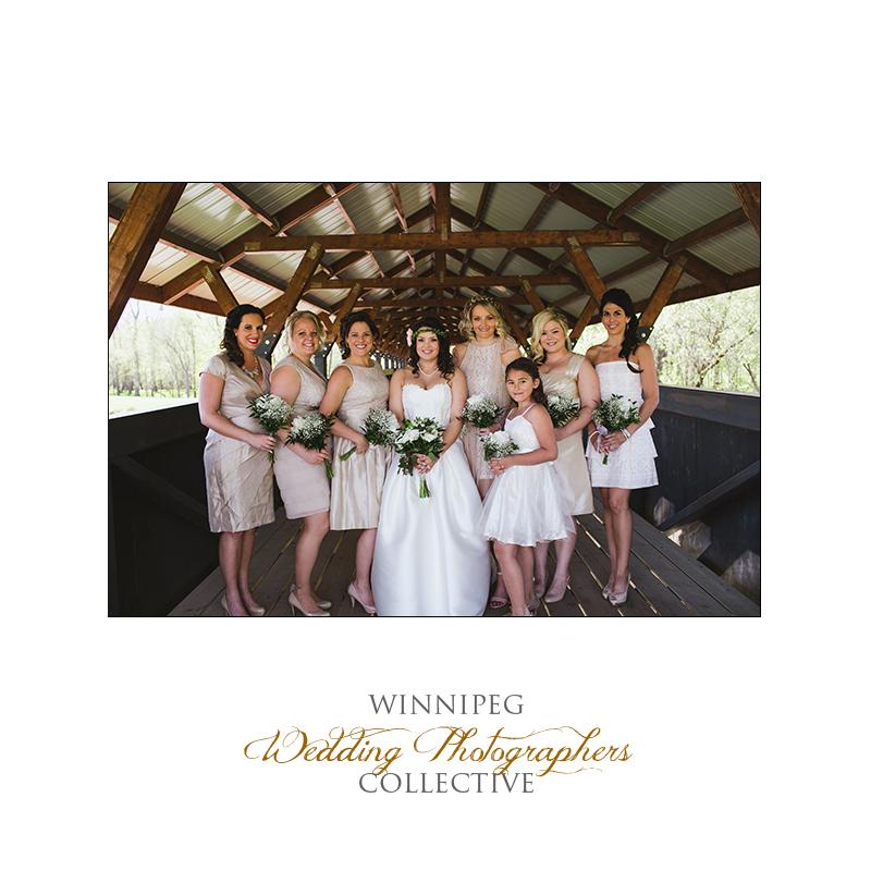Winnipeg wedding photographer at Bridges Golf Course