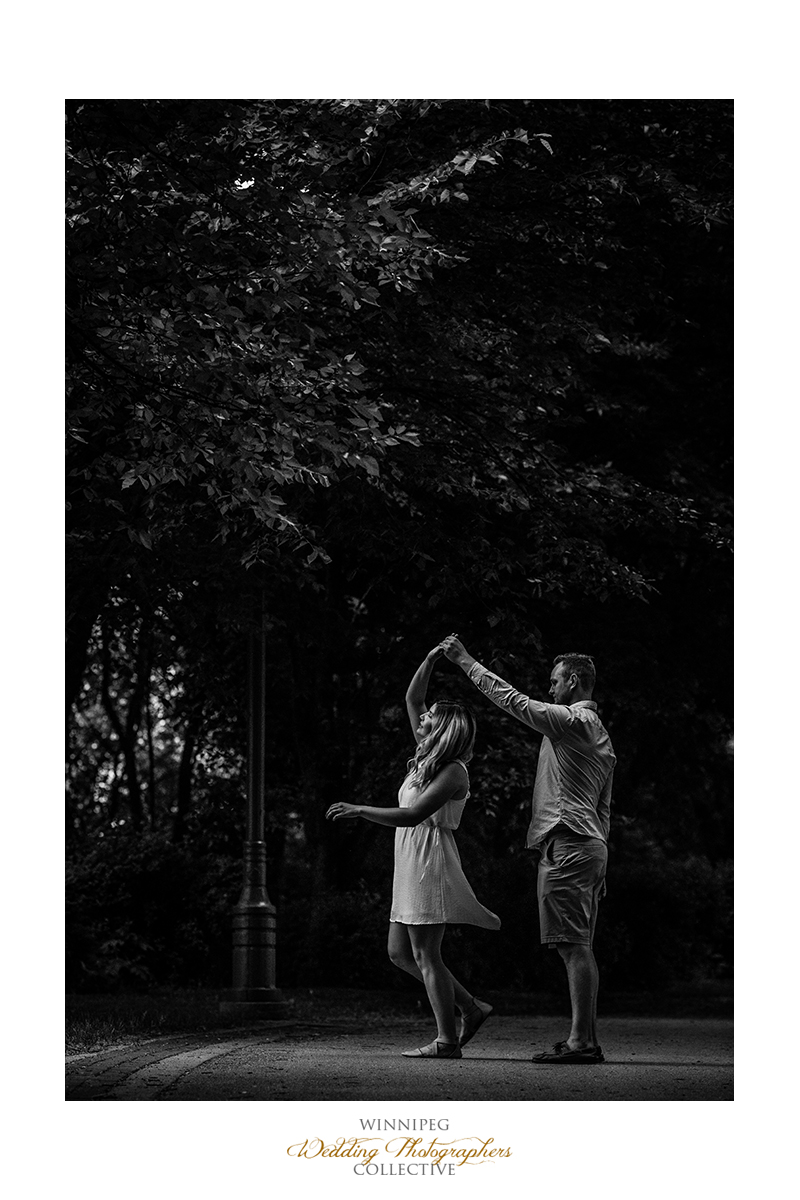 8 Dance Engaged Engagement Winnipeg Black and White Tony.jpg