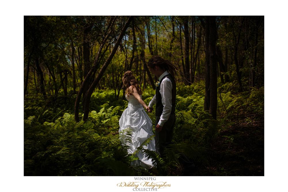 13 Bride and Groom Walking Outdoor Portrait Selkirk Manitoba Canada.jpg