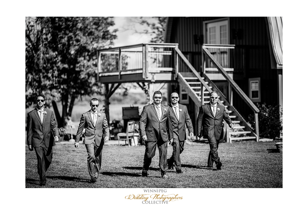 09 Groomsment Aisle Outdoor Country Wedding.jpg