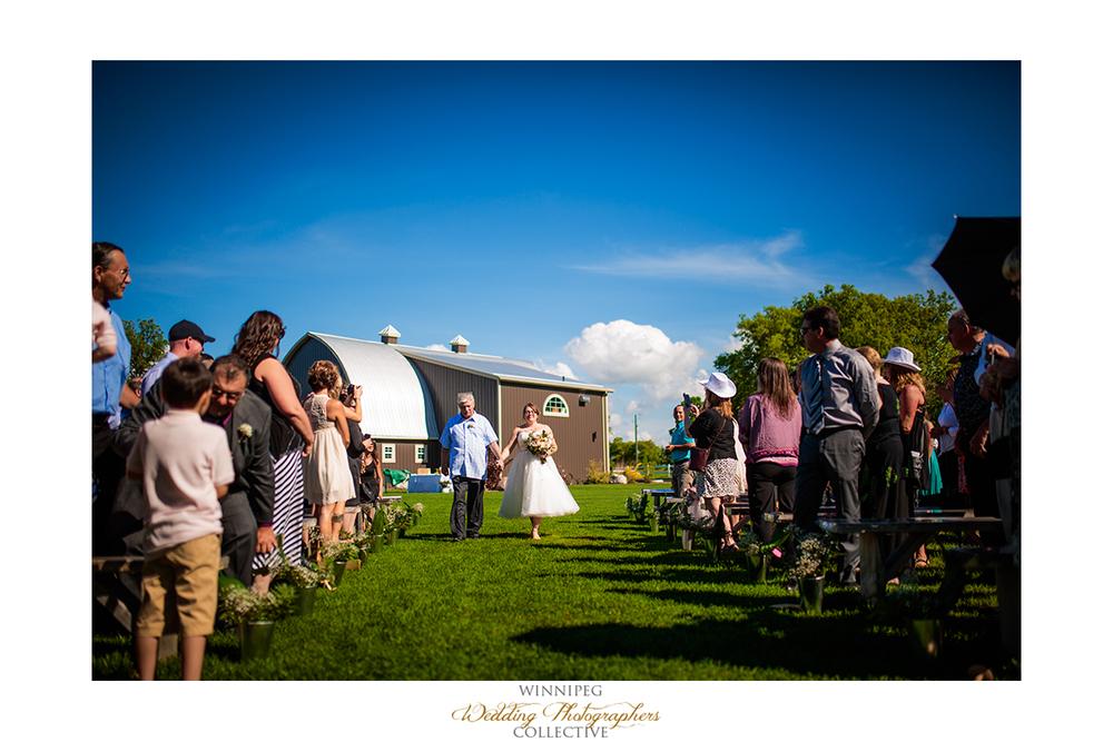 11 Bride Aisle Country Wedding Hawthorn Estates Sunny Outdoor.jpg