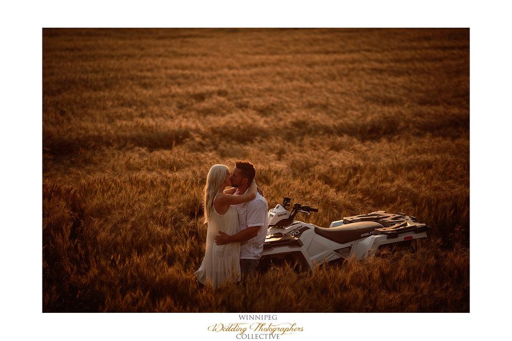 13_Farm Life Engagement Photos Wheat Sunflowers Field Sunset.jpg