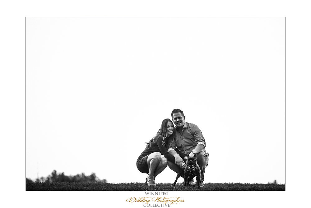 Engagement photos Manitoba