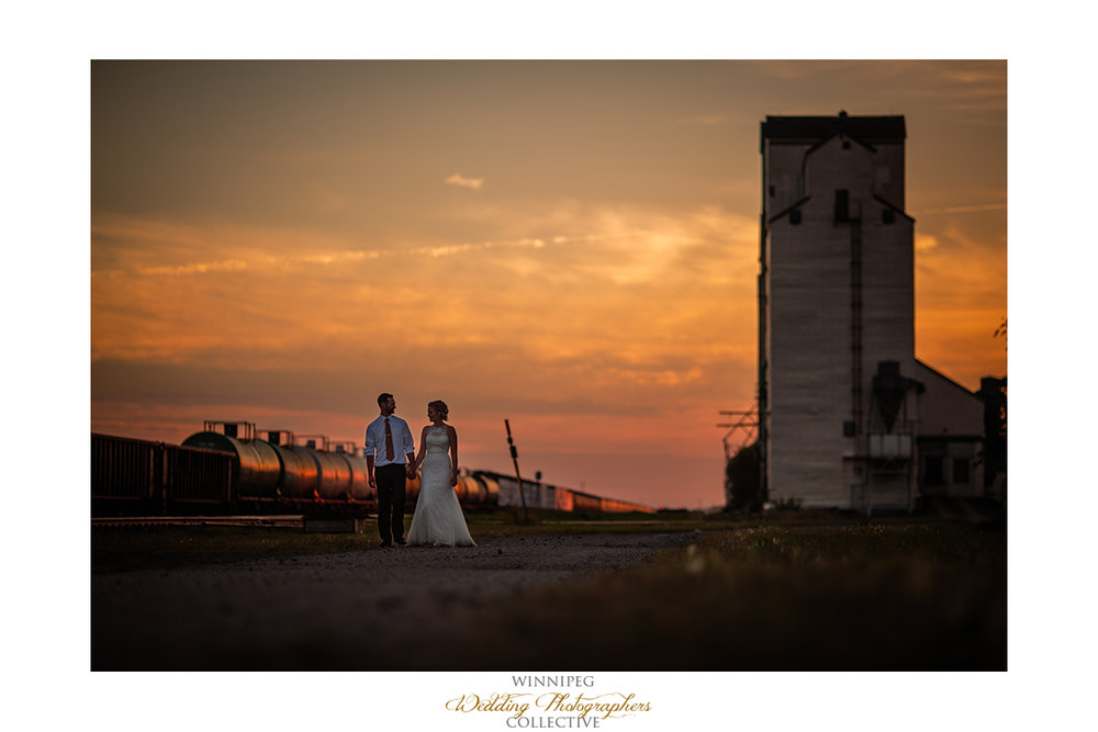 Manitoba country wedding photos