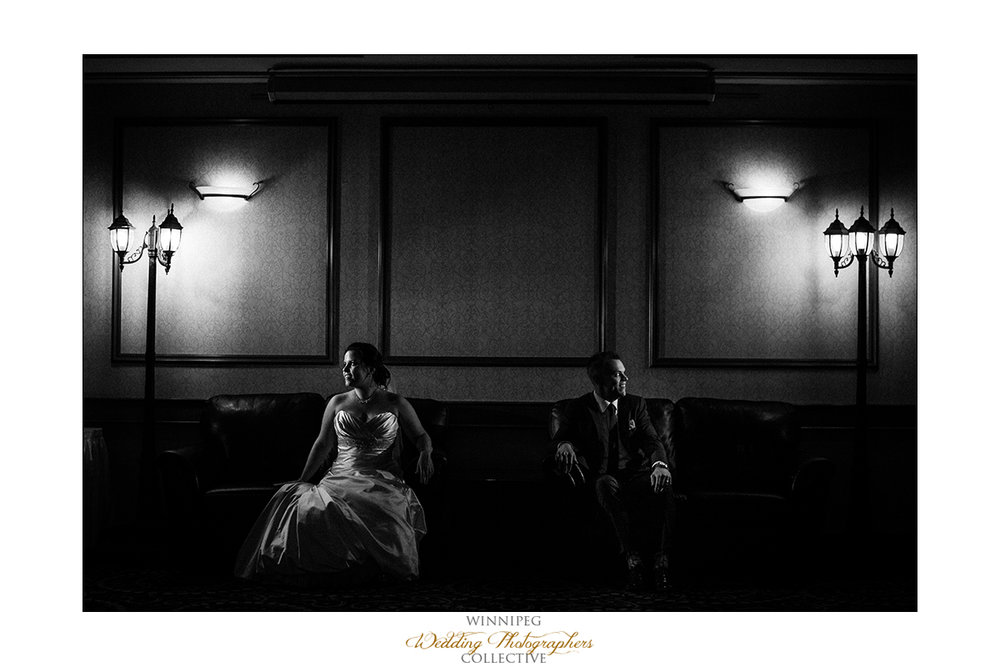 Wedding photos at Victoria Inn in Winnipeg