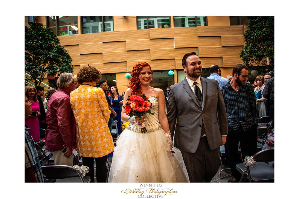 University of Manitoba wedding photos