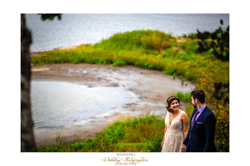 Asessippi Provincial Park wedding photos
