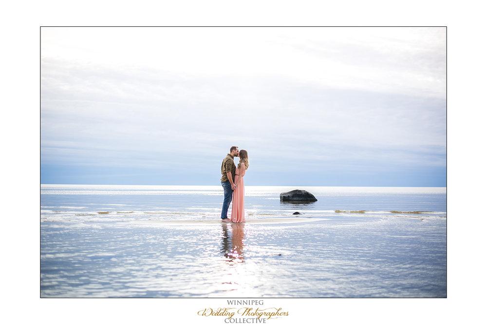 Victoria Beach Manitoba Engagement photos